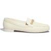 Chanel Women Loafers Lambskin Ivory 1.5 cm Heel
