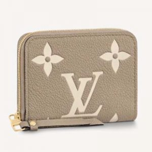 Louis Vuitton LV Unisex Zippy Coin Purse Monogram Empreinte Embossed Supple Grained Cowhide