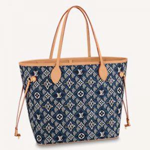 Louis Vuitton LV Women Since 1854 Neverfull MM Tote Monogram Flowers Canvas