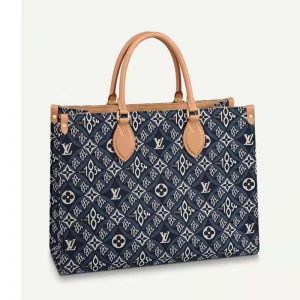 Louis Vuitton LV Women Since 1854 OnTheGo MM Tote Monogram Flowers Canvas