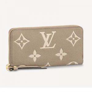 Louis Vuitton LV Women Zippy Wallet Monogram Empreinte Embossed Supple Grained Cowhide