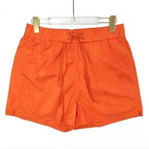 Louis Vuitton Men 3D Pocket Monogram Board Shorts Polyester Orange