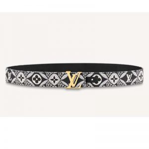 Louis Vuitton Unisex Since 1854 LV Iconic 30mm Belt Monogram Flowers 3 cm Width