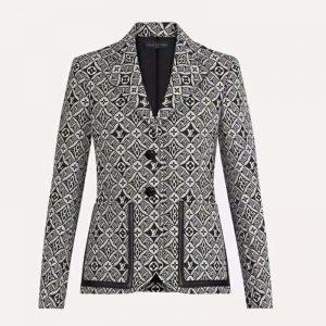 Louis Vuitton Women Since 1854 Preppy Classic Fit Blazer Regular Fit-Black
