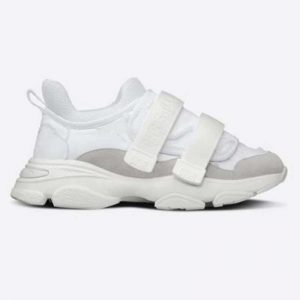 Dior Women D-Wander Sneaker Uber White Camouflage Technical Fabric