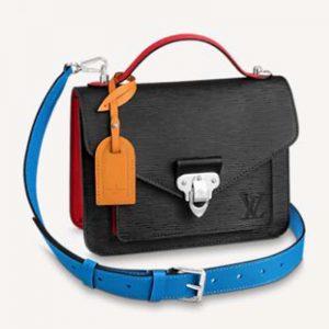Louis Vuitton Unisex Neo Monceau Epi Grained Cowhide Leather Black