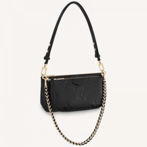 Louis Vuitton Women Multi Pochette Accessoires Embossed Supple Grained Cowhide Leather