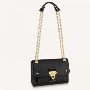 Louis Vuitton Women Vavin BB Black Embossed Supple Grained Cowhide Leather